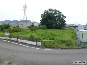 静岡市葵区安倍口新田 事業用地に最適