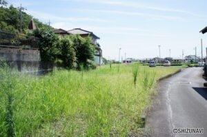 富士市中野  敷地は約240坪