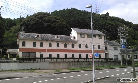 島田市湯日 土地面積約300坪 売店舗兼住宅