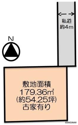 焼津市五ケ堀之内 黒石小・大富中学校区の画像