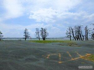 湖西市新居町新居 浜名湖が一望出来る土地