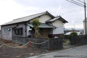 富士市比奈 古家付き土地