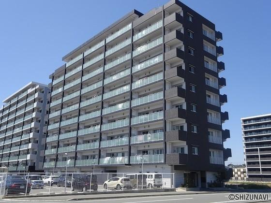 エンブルステーション菊川 再開発が進むJR菊川駅北側