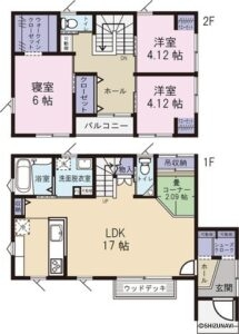 磐田市向笠竹之内 中古住宅の画像