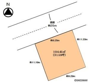 静岡市駿河区八幡5丁目 JR静岡駅までも徒歩約16分