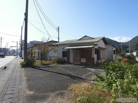伊豆の国市田京 国道沿線の売店舗
