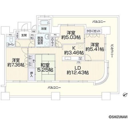 静岡市葵区吉野町5-8 エンブル・ガーデン吉野町
