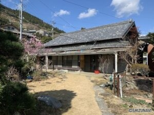 静岡市清水区吉原 古屋付土地 広々とした落ち着いた住環境です!