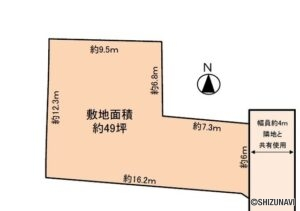 静岡市葵区古庄5丁目 マムへ徒歩4分