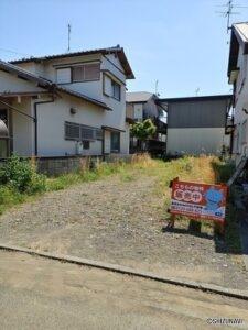 静岡市葵区南瀬名町 売土地 西奈南小まで約280M 富士屋瀬名店約800M