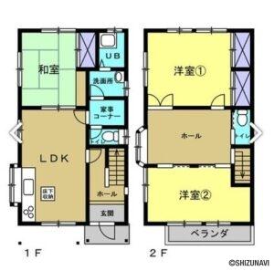 【リフォーム中】富士宮市小泉 並列駐車3台可能 3SLDKの画像