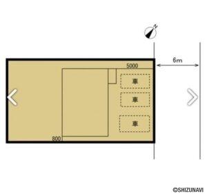 【リフォーム中】富士宮市万野原新田 駐車場3台、4DKの再生住宅の画像