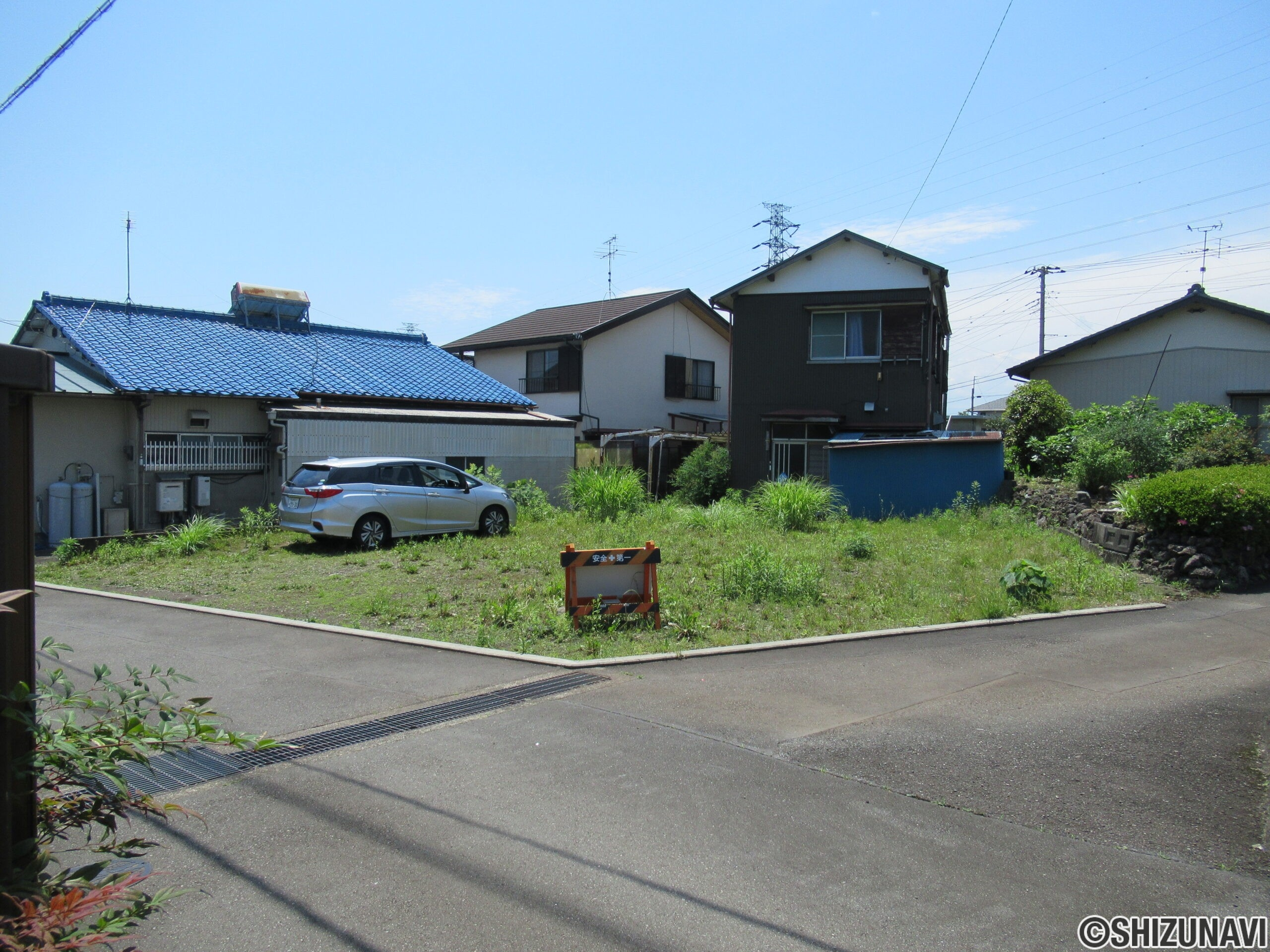 富士市三ツ沢の閑静な住宅街 売り土地