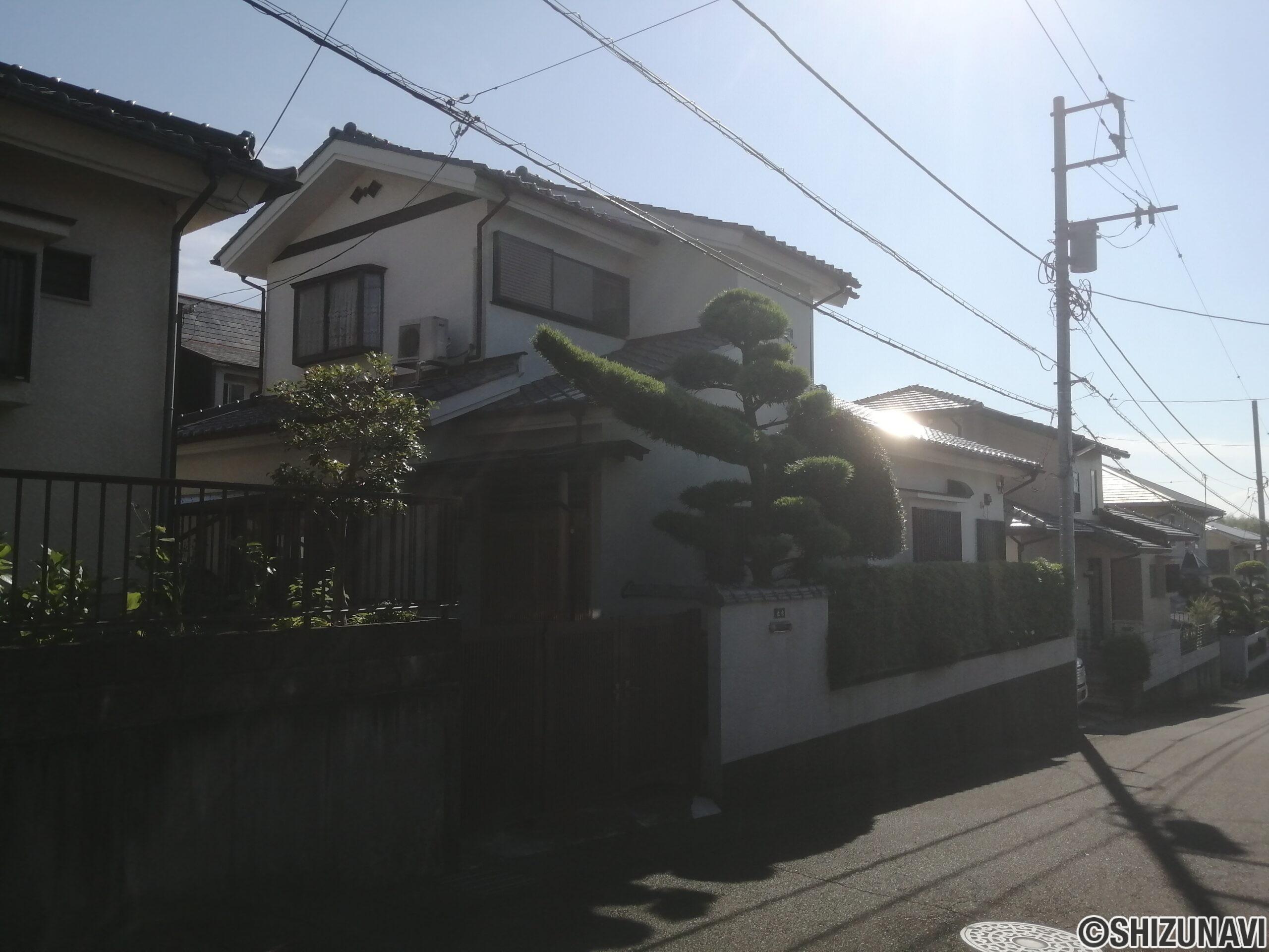 三島市三恵台中古住宅