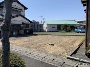 静岡市清水区蒲原 売り土地 南東向き陽当たり良好