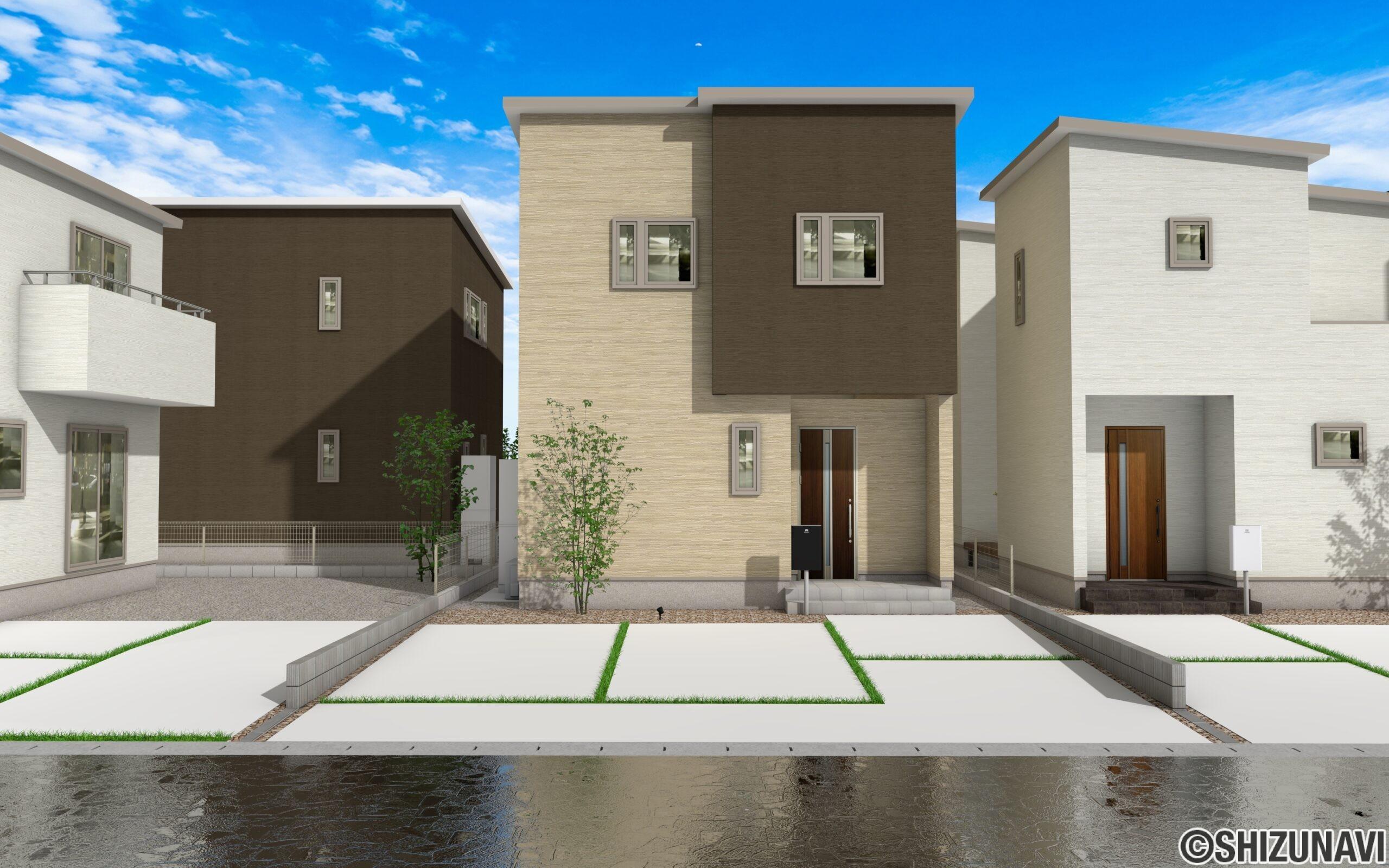 【長期優良認定住宅】浜松市中区高丘西1丁目【D棟】耐震等級3 アルハウス