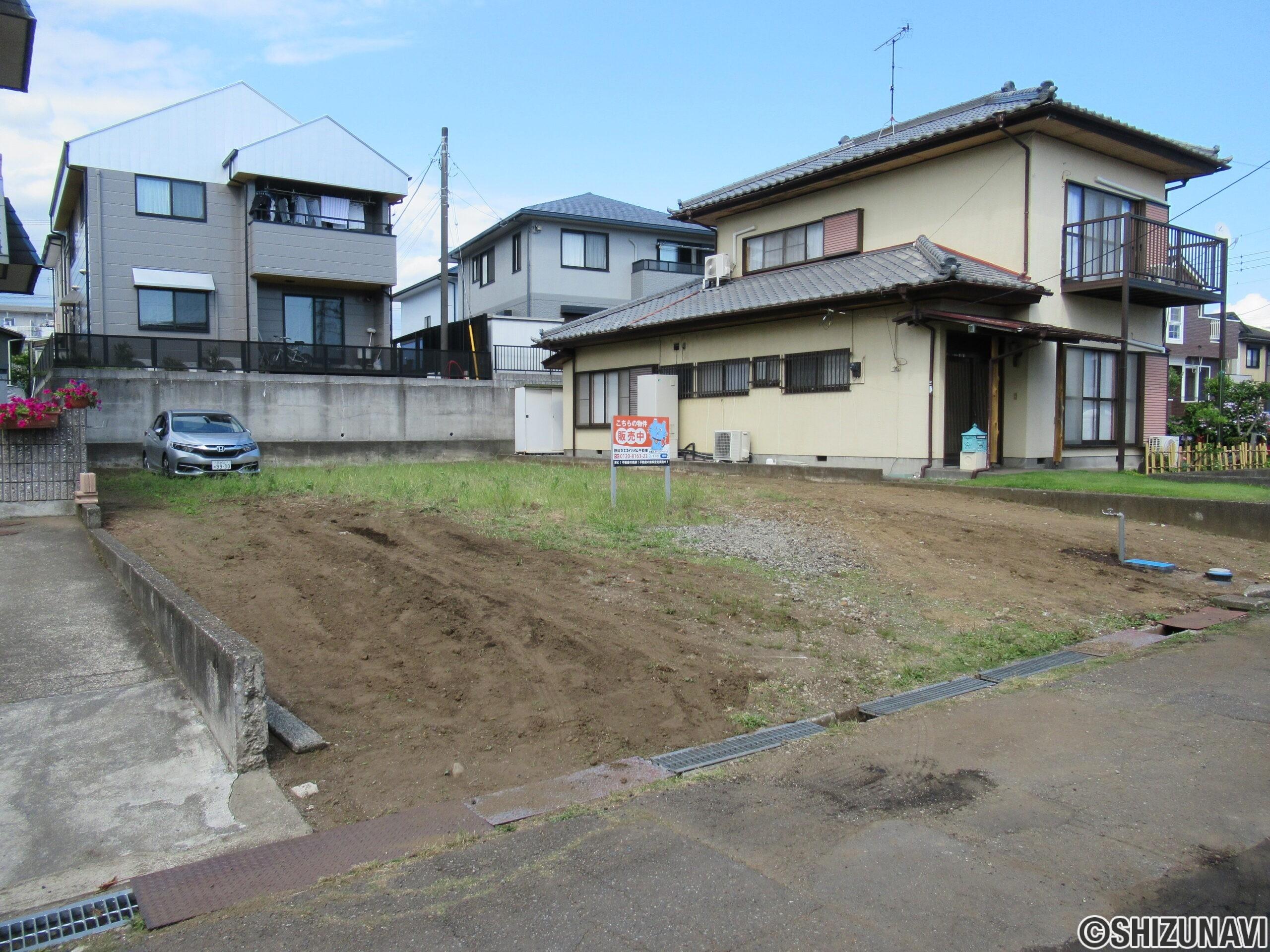 【仲介手数料不要】富士市厚原 土地面積70.64坪