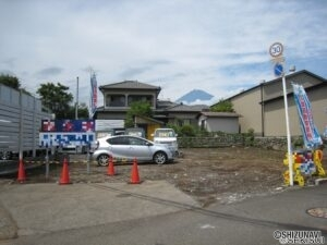 富士市天間 売土地
