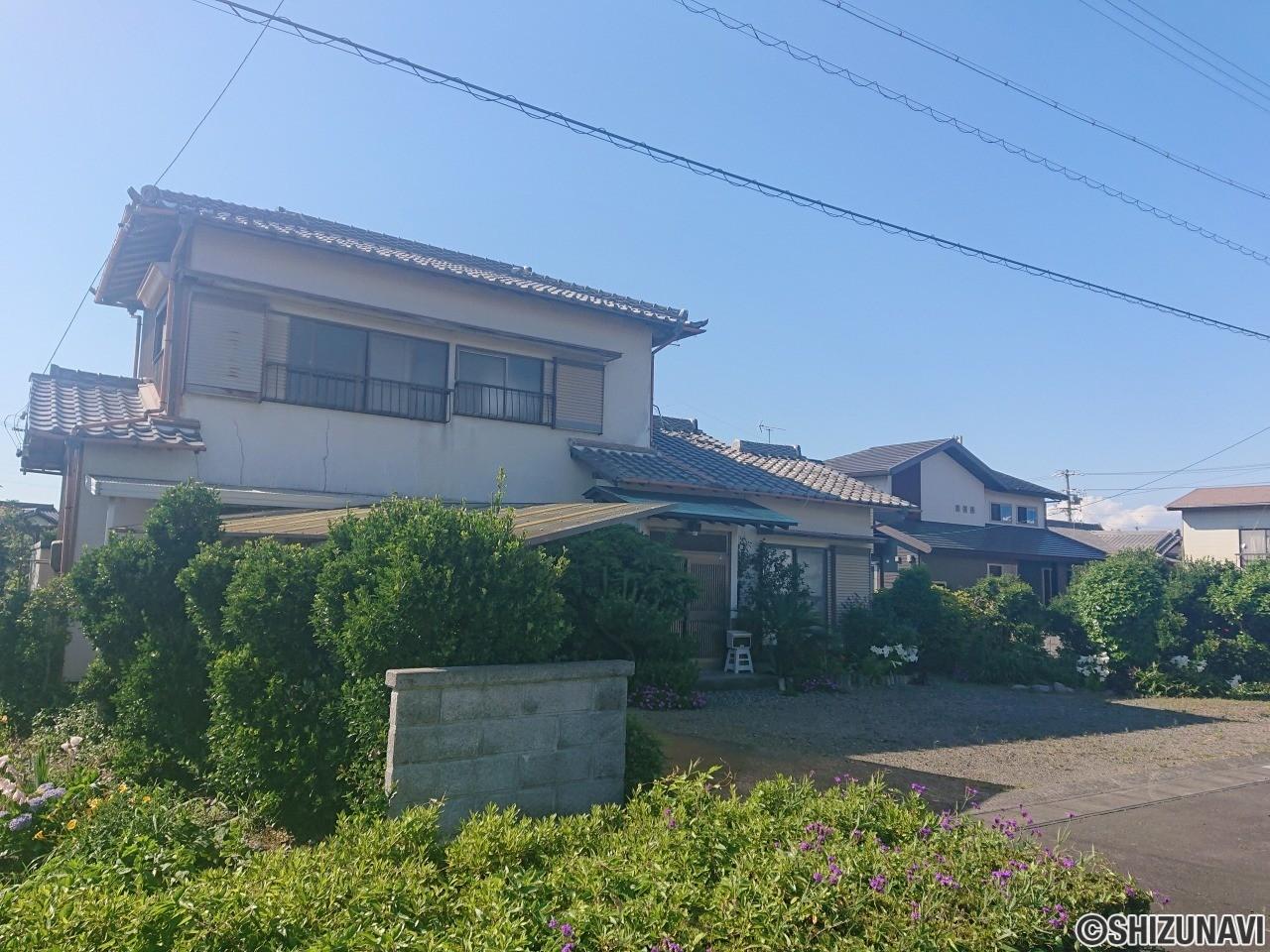 焼津市西島 土地(建物有)