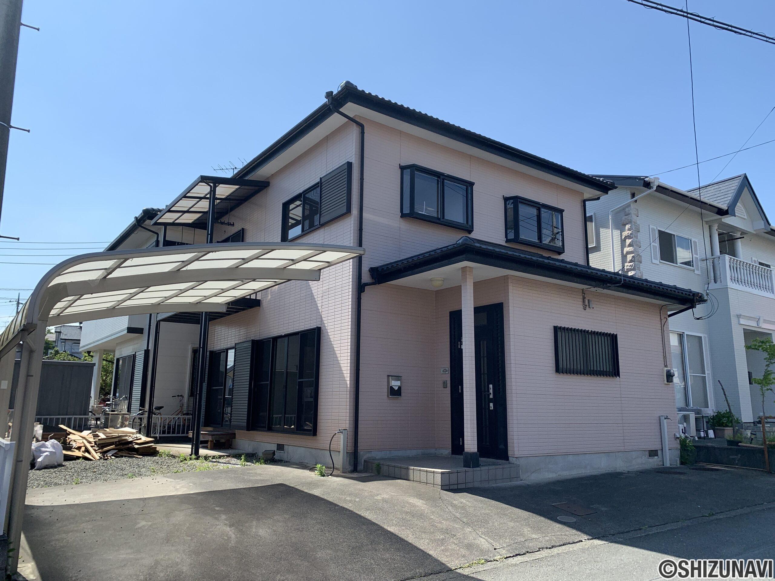 富士市今泉 現在リフォーム工事中 4LDKリノベーション住宅