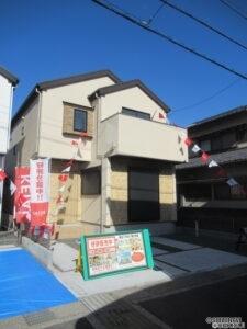 【新築分譲住宅】静岡市葵区千代田1丁目 おしゃれなカフェスタイル2号棟
