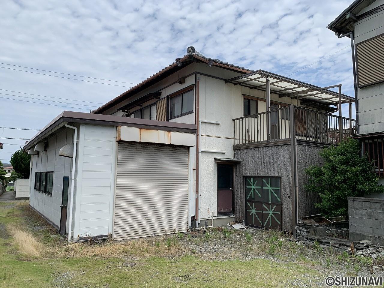 富士市川成島 1階作業場 2階居住スペースの兼用住宅