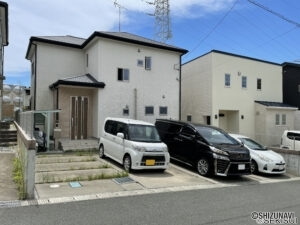 磐田市西貝塚 太陽光システム搭載 駐車スペース3台