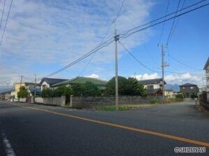 富士市川成島【建築条件無し】日当たり良好 120.36坪
